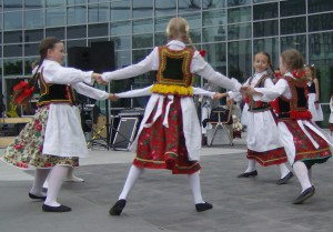 Polish folk dance