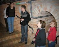 Underground route in Rzeszów